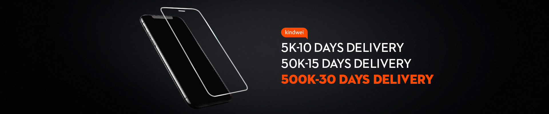 500K-30 DAYS DELIVERY