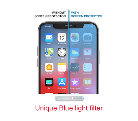 Anti-blue light screen protector
