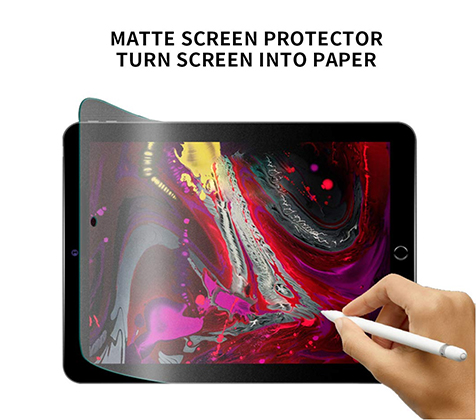Tablet anti-glare screen protector